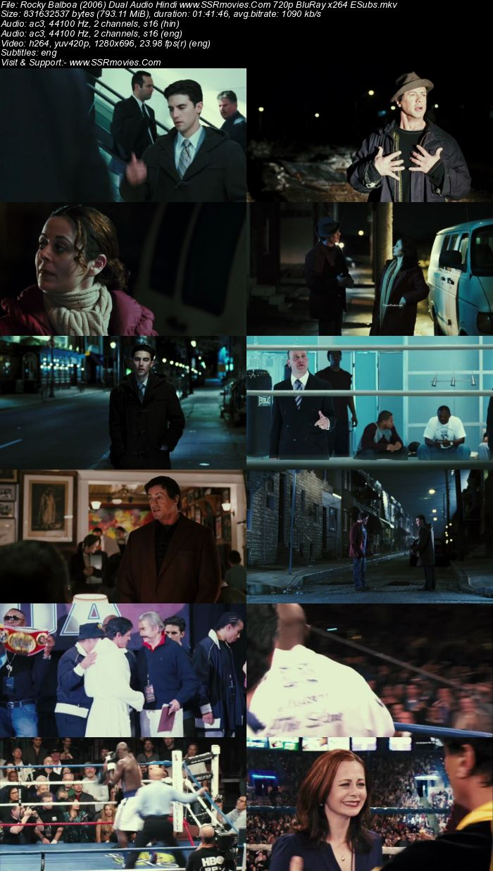 Rocky Balboa (2006) Hindi 480p 400Mb BRRip Dual Audio Full Movie Download