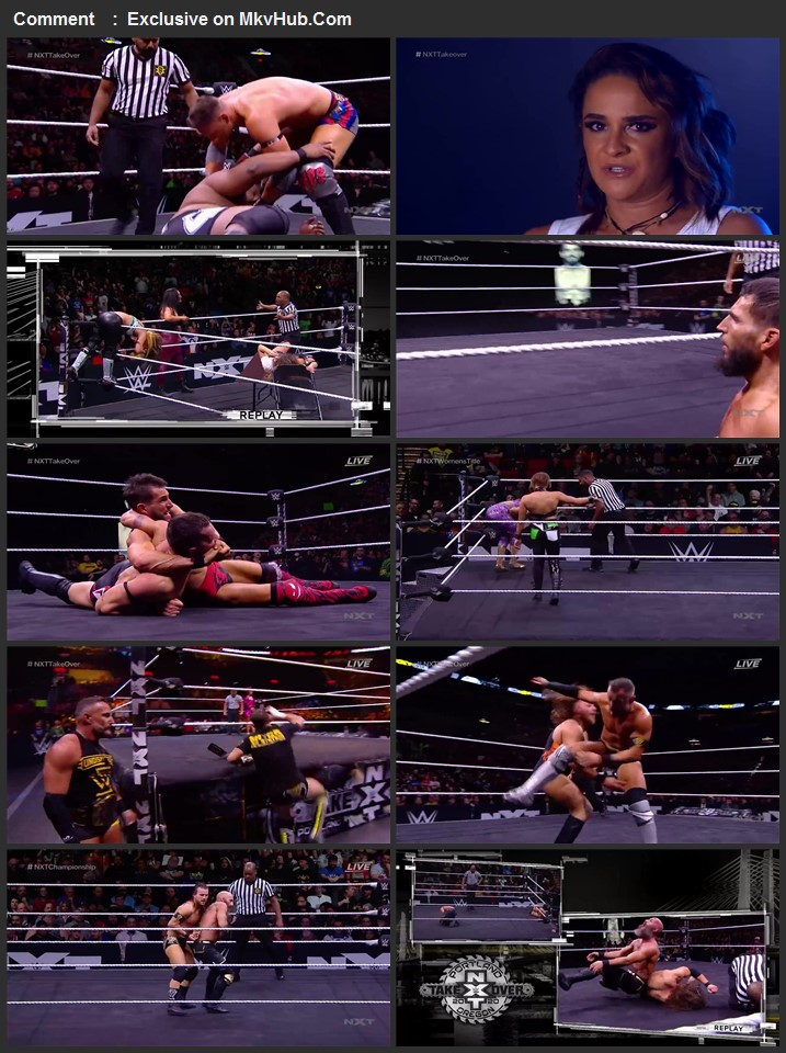 NXT TakeOver Portland 2020 720p PPV WEBRip Full Show Download