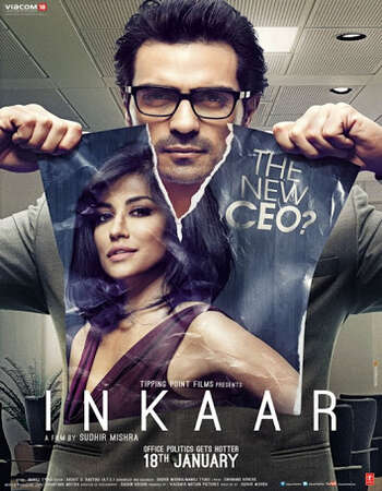 Inkaar 2013 Hindi 480p WEB-DL x264 350MB ESubs