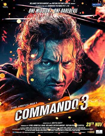 Commando 3 (2019) Hindi 720p HDRip x264 1GB Full Movie Download
