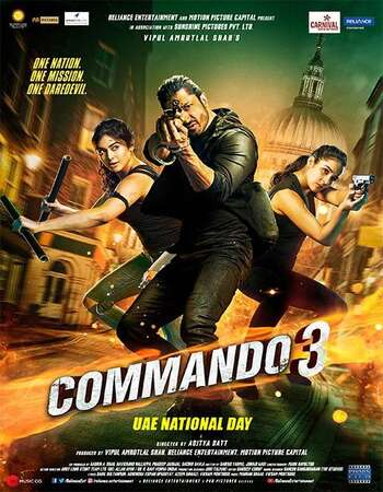 Commando 3 2019 720p WEB-DL Full Hindi Movie Download