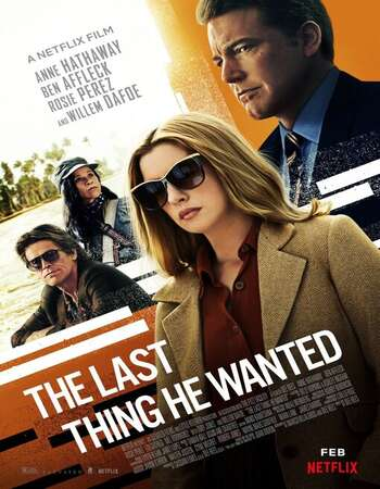 The Last Thing He Wanted 2020 720p WEB-DL ORG Dual Audio in Hindi English