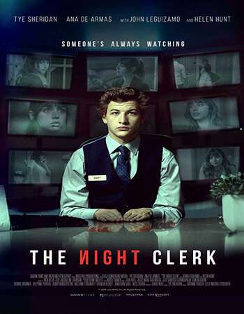 The Night Clerk (2020) English 720p WEB-DL x264 800MB ESubs