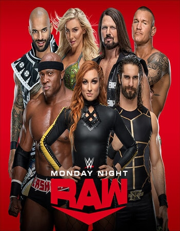 WWE Monday Night RAW 15 June 2020 HDTV 720 720p HDTV x264 1.1GB Download