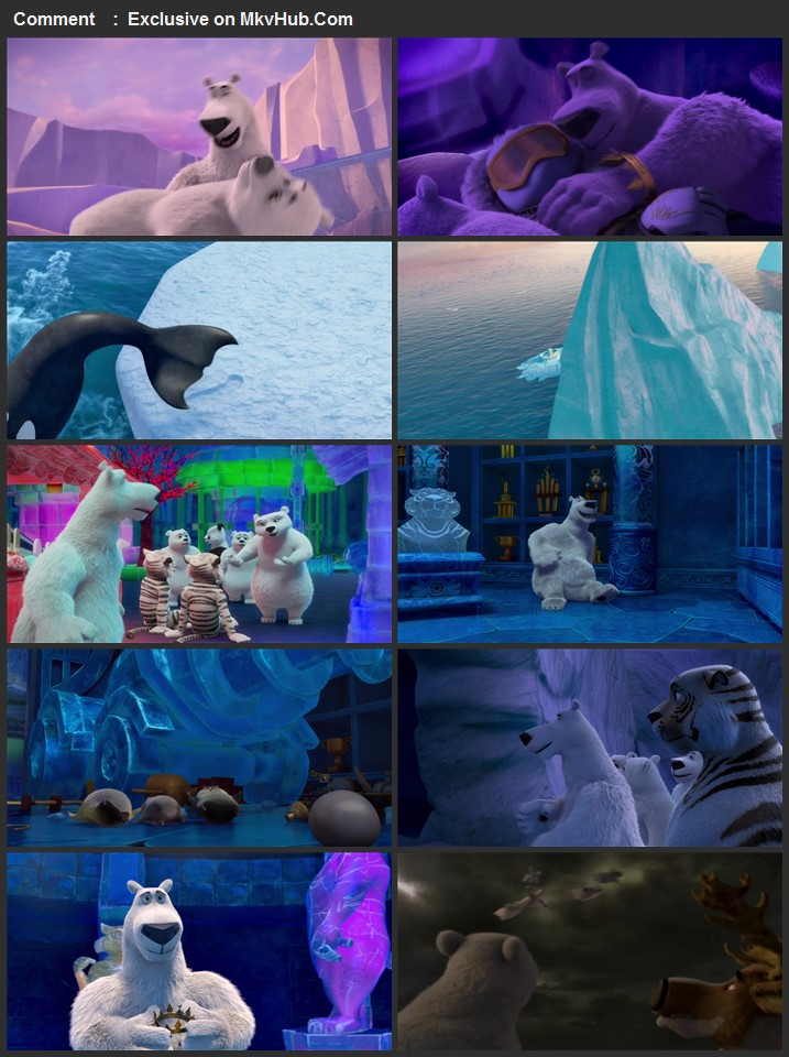 Norm of the North: Family Vacation 2020 English 720p WEB-DL 750MB Download