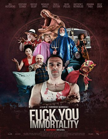Fuck You Immortality 2019 English 720p WEB-DL 700MB Download