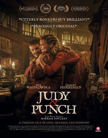 Judy & Punch 2019 English 720p WEB-DL 950MB ESubs