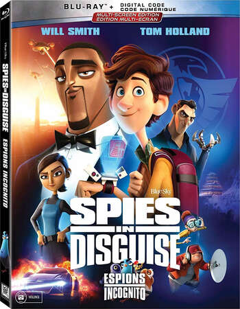 Spies in Disguise 2019 English 480p BluRay x264 300MB ESubs