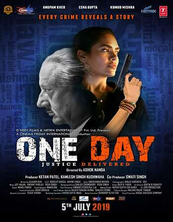 One Day: Justice Delivered 2019 Hindi 480p WEB-DL x264 350MB