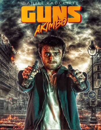 Guns Akimbo 2019 English 480p WEB-DL x264 300MB ESubs
