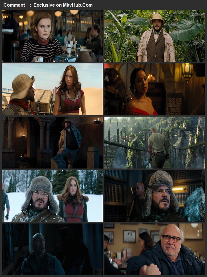 Jumanji: The Next Level 2019 English 720p BluRay 1GB ESubs Download