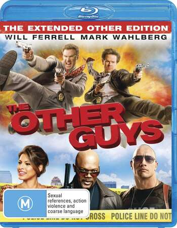 The Other Guys (2010) Dual Audio Hindi 720p BluRay x264 950MB Full Movie Download