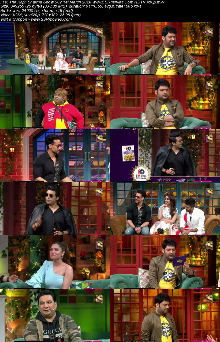 The Kapil Sharma Show S02 1st March 2020 Full Show Download HDTV HDRip 480p 720p