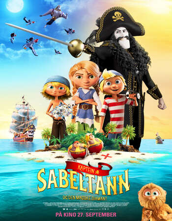 Captain Sabertooth and the Magic Diamond 2019 English 720p WEB-DL 700MB Download