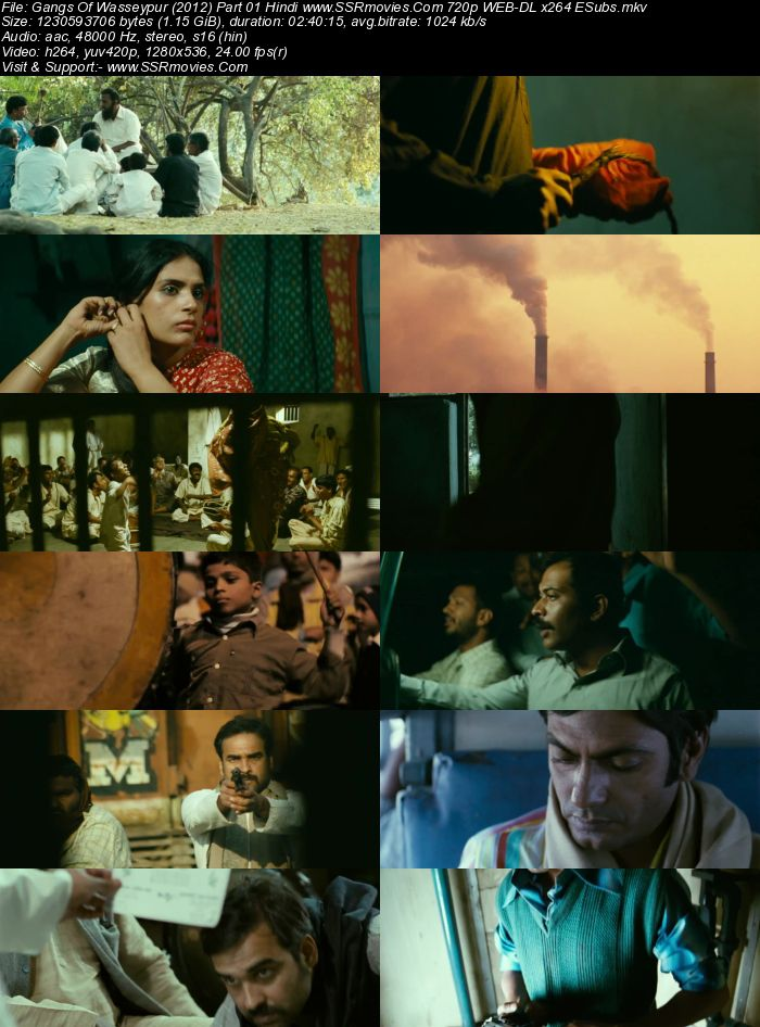 Gangs of Wasseypur (2012) Hindi 720p WEB-DL x264 1.1GB Full Movie Download