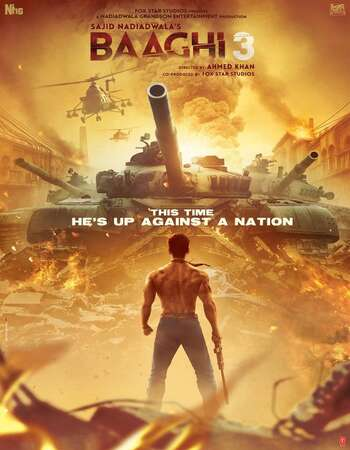 Baaghi 3 2020 Hindi 1080p WEB-DL 2.3GB ESubs