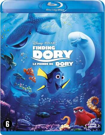 Finding Dory (2016) Dual Audio Hindi 720p BluRay x264 800MB Full Movie Download