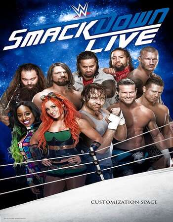 WWE Friday Night SmackDown 11th June 2021 720p WEBRip x264 750MB Download