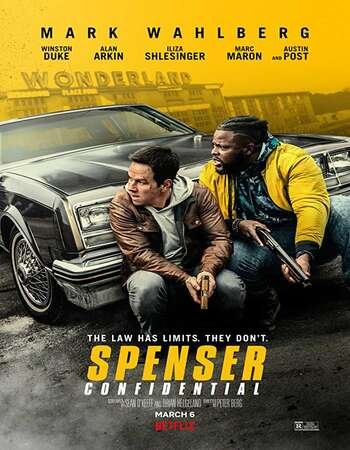 Spenser Confidential (2020) English 720p WEB-DL x264 950MB Full Movie Download
