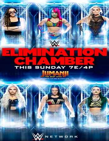WWE Elimination Chamber 2020 PPV 720p WEBRip x264 900MB Download