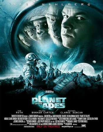 Planet of the Apes 2001 Dual Audio [Hindi-English] 720p BluRay 950MB Download