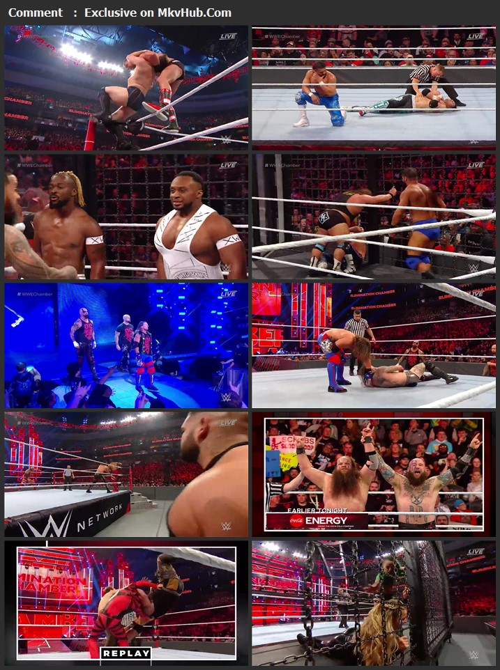 WWE Elimination Chamber 2020 720p PPV WEBRip 1.9GB Download