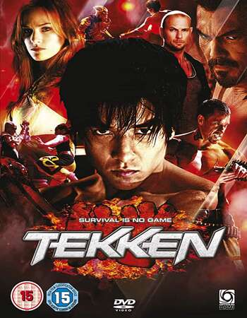 Tekken (2010) Dual Audio Hindi 720p BluRay 600MB Full Movie Download