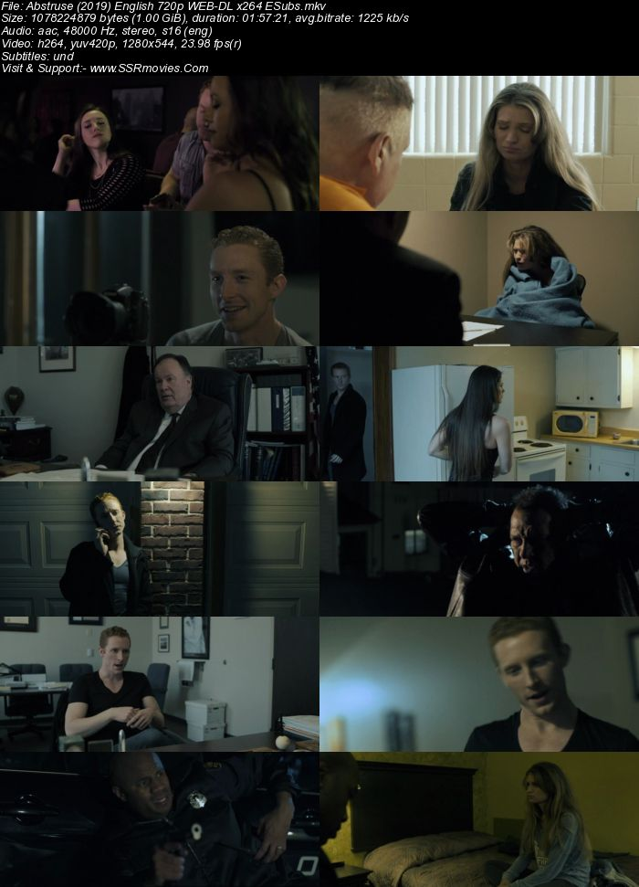 Abstruse (2019) English 480p WEB-DL x264 350MB ESubs Full Movie Download