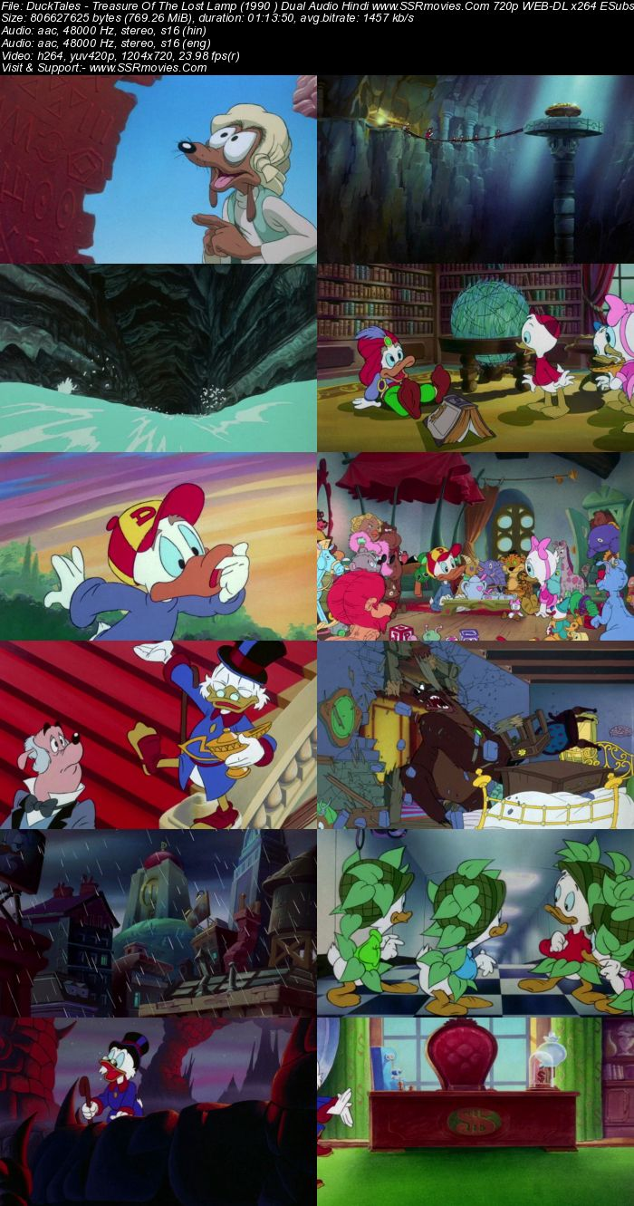 DuckTales the Movie (1990) Dual Audio Hindi 480p WEB-DL x264 250MB Full Movie Download