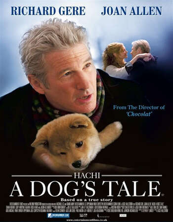 Hachi: A Dog's Tale 2009 English 720p BluRay 800MB Download