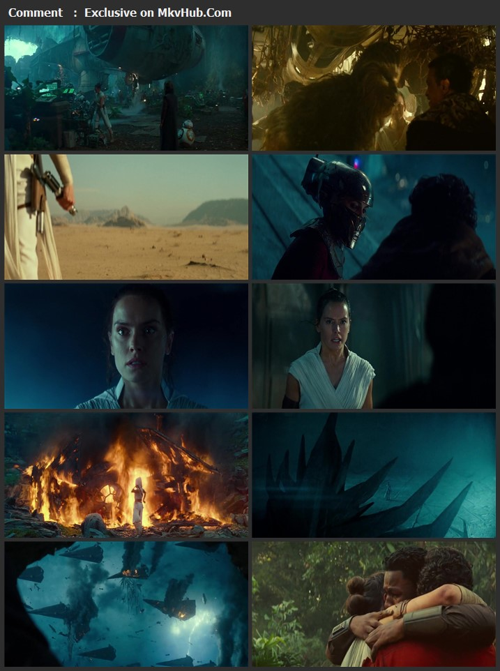 Star Wars The Rise of Skywalker 2019 English 1080p BluRay 2.4GB ESubs Download