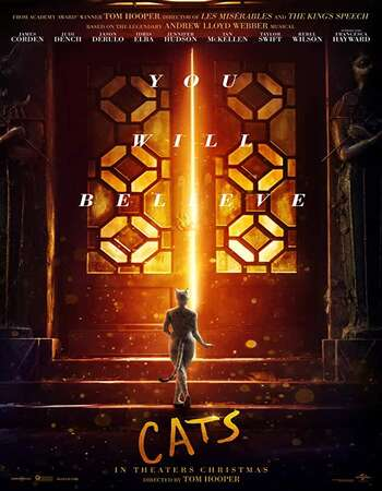 Cats (2019) English 720p WEB-DL x264 900MB Full Movie Download