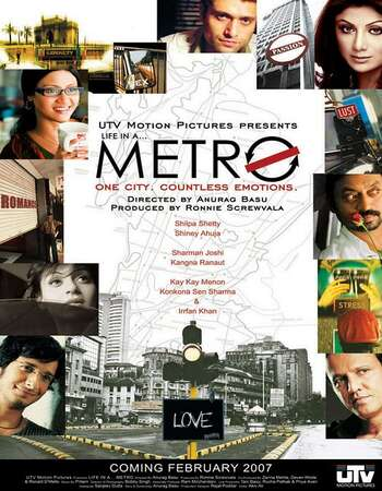Life in a Metro (2007) Hindi 720p WEB-DL x264 1GB Full Movie Download