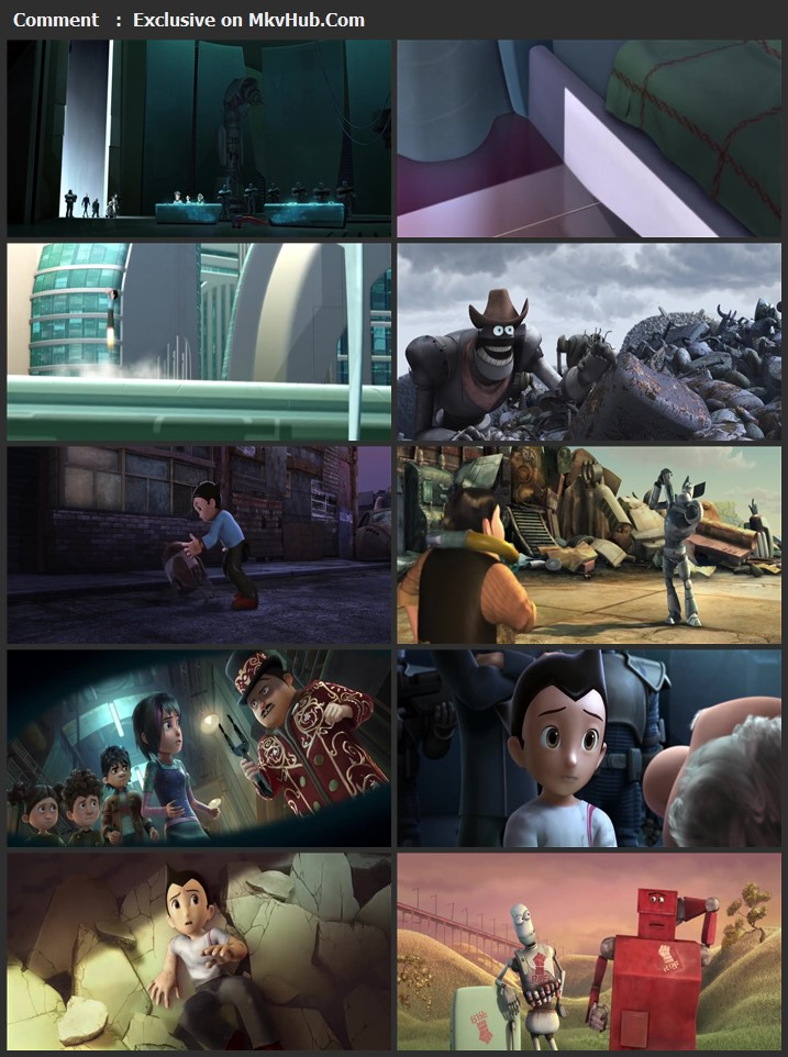 Astro Boy 2009 Dual Audio [Hindi-English] 720p BluRay 800MB Download