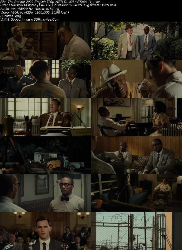 The Banker (2020) English 720p WEB-DL x264 1GB Full Movie Download