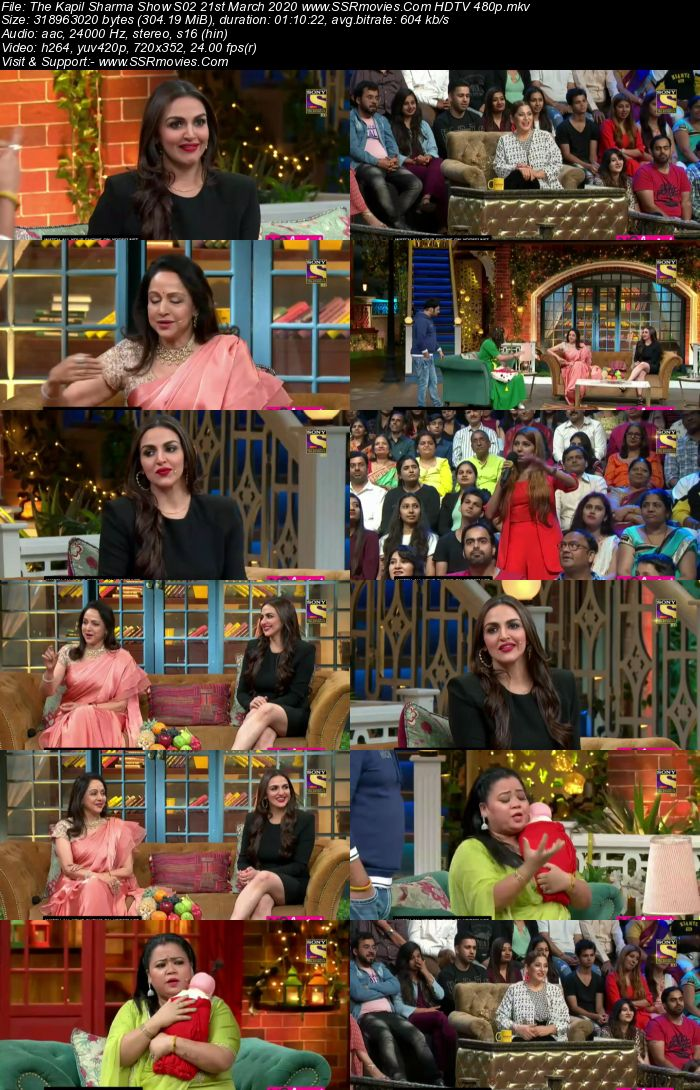 The Kapil Sharma Show S02 21st March 2020 Full Show Download HDTV HDRip 480p 720p