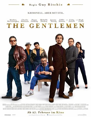 The Gentlemen (2019) English 720p WEB-DL x264 950MB Full Movie Download