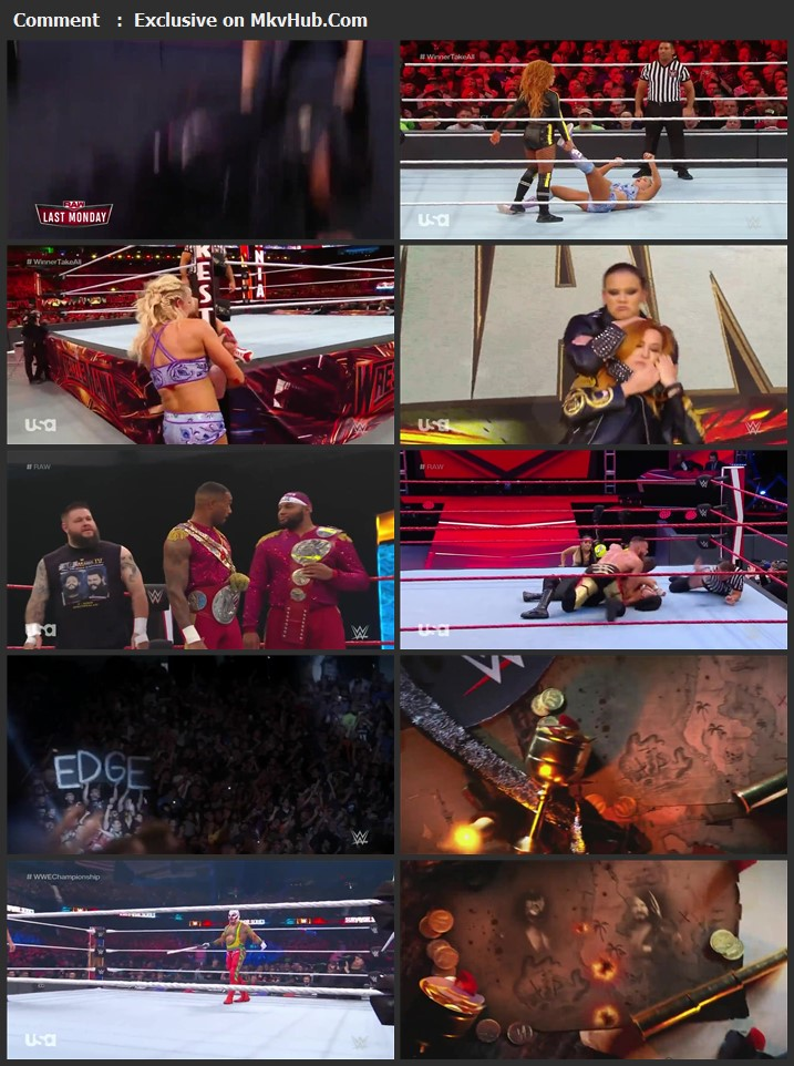 WWE Monday Night RAW 30 March 2020 720p HDTV x264 1GB