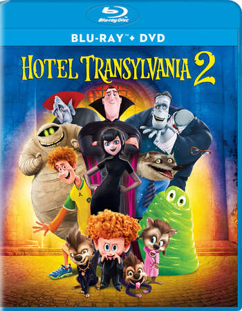 Hotel Transylvania 2 (2015) Dual Audio Hindi 480p BluRay 300MB ESubs