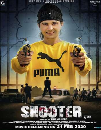 Shooter (2020) Punjabi 720p CBRip 1.1GB Full Movie Download