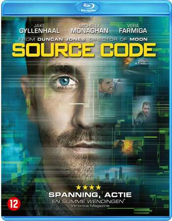 Source Code (2011) Dual Audio Hindi 480p BluRay x264 300MB ESubs Full Movie Download
