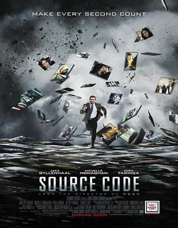 Source Code 2011 Dual Audio [Hindi-English] 720p BluRay 800MB Download