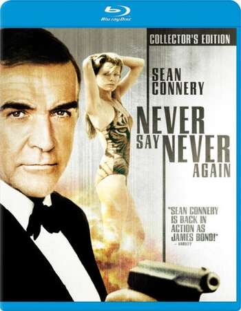 Never Say Never Again (1983) Dual Audio Hindi 480p BluRay 450MB ESubs Full Movie Download