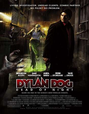 Dylan Dog: Dead of Night 2010 Dual Audio [Hindi-English] 720p BluRay 800MB ESubs
