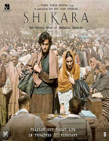 Shikara 2020 Full Movie Hindi 480p WEB-DL 350MB ESubs