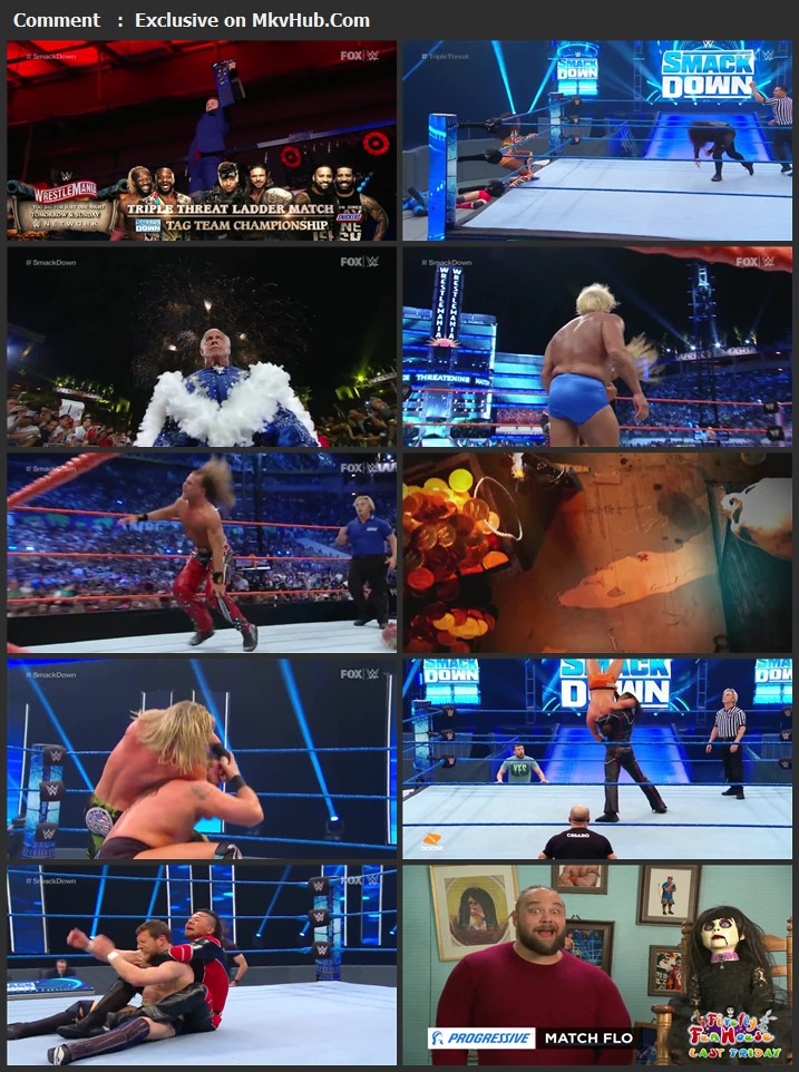 WWE Friday Night SmackDown 03 April 2020 720p HDTV x264 650MB Download