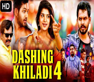 Dashing Khiladi 4 2020 South Hindi Dubbed WEB-DL 450MB ESub