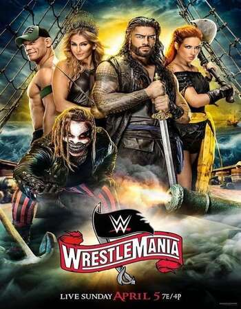 WWE WrestleMania 36 2020 720p PPV WEBRip x264 1.5GB