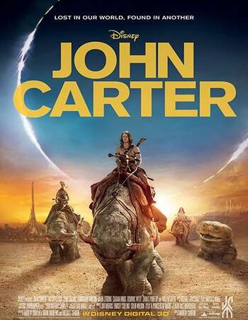 John Carter 2012 Dual Audio [Hindi-English] 720p BluRay 1GB