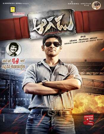 Aagadu (2014) Dual Audio Hindi 480p HDRip x264 550MB ESubs Full Movie Download